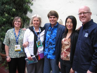 Group photo with Dean Koontz