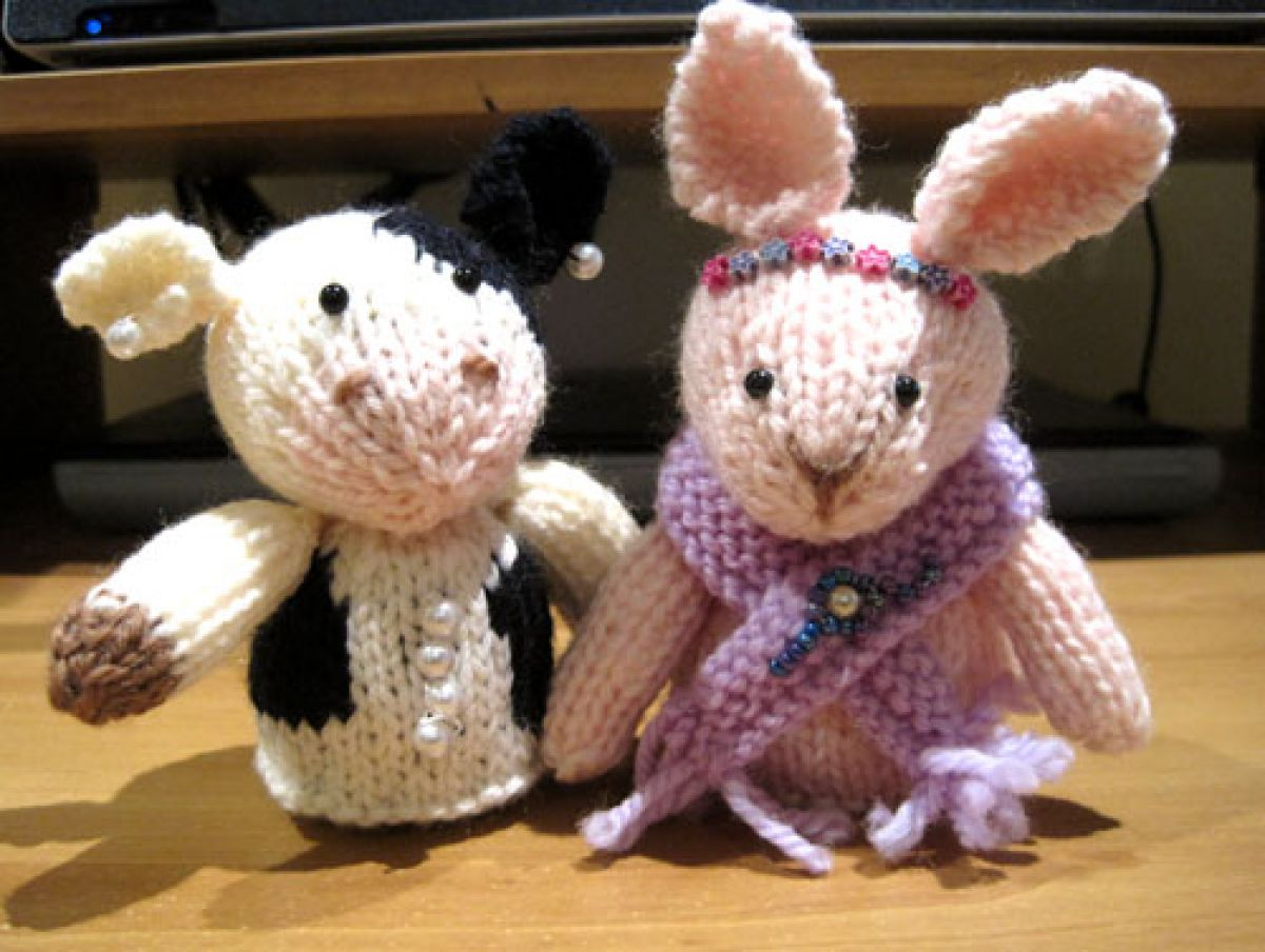 Knitting Small Animals : Knits and bits queenie chan